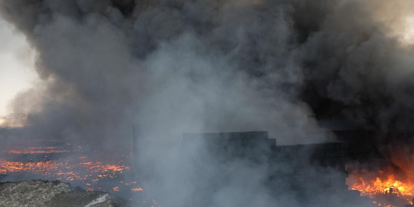 العراق: جحيم الدخان وحقول النفط