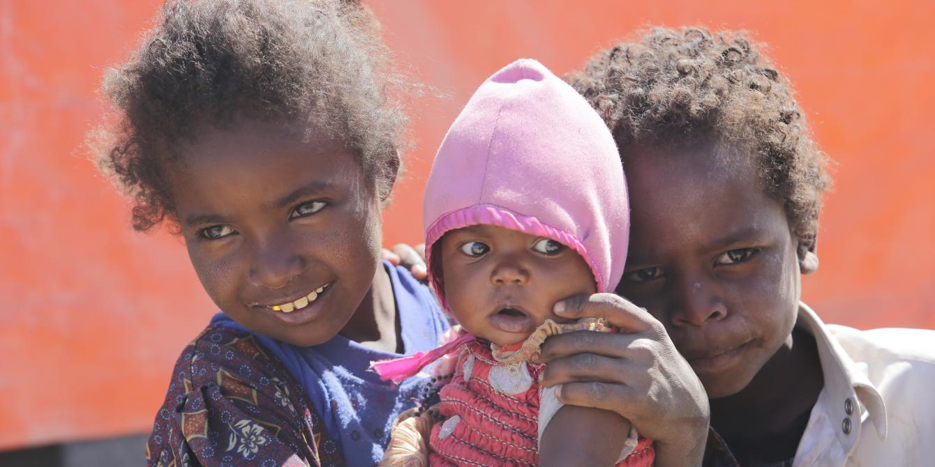 المتضررين من حرب اليمن وقوتهم في مواجهة الشدائد