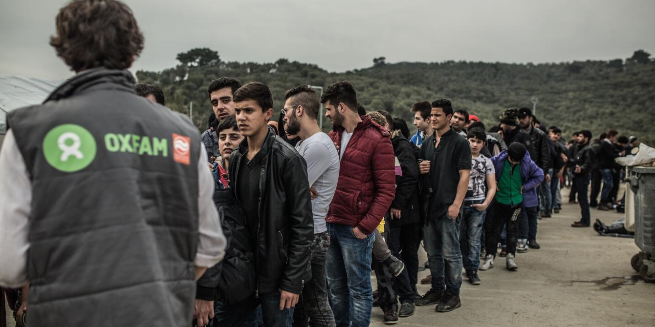 من برنامج أوكسفام للاجئين في اليونان والبلقان