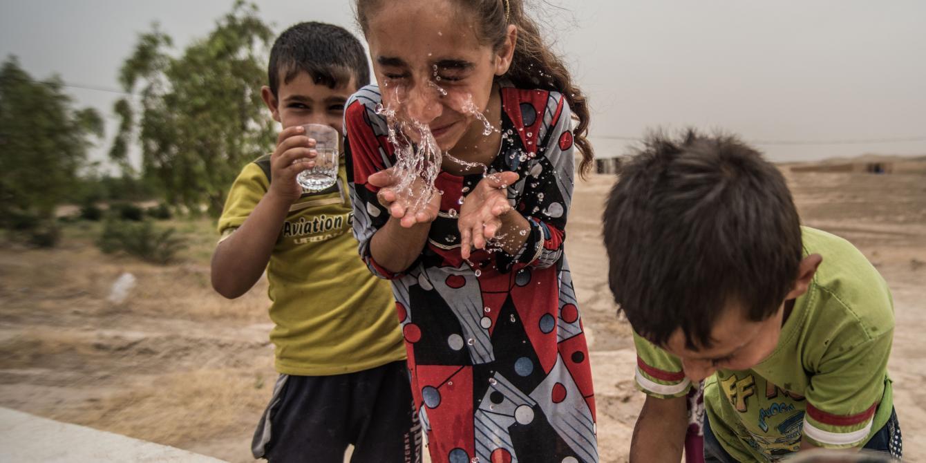 المياه والصرف الصحي والنظافة