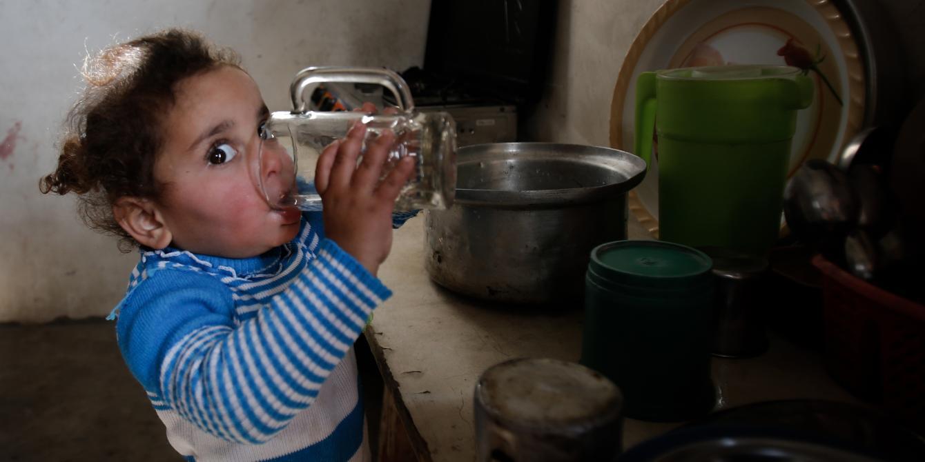 في غزة المياه غير صالحة للشرب