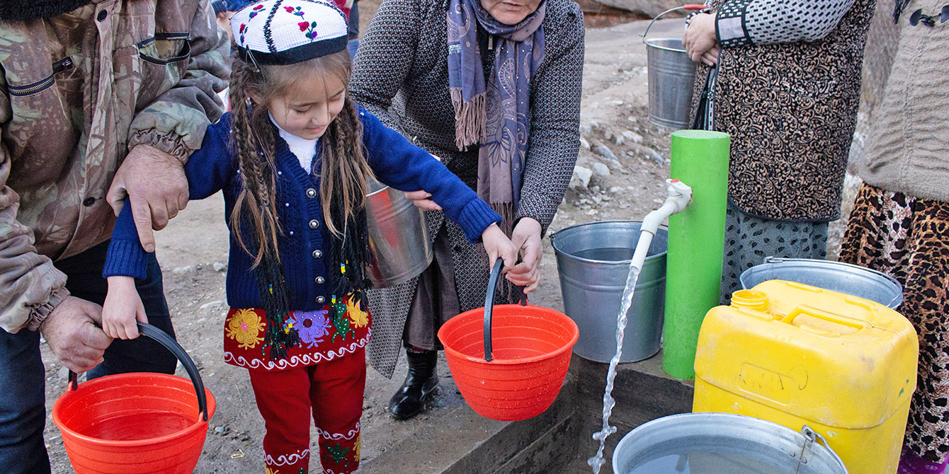 Oxfam in Asia - Tajikistan - Water Sanitation and Hygiene WASH