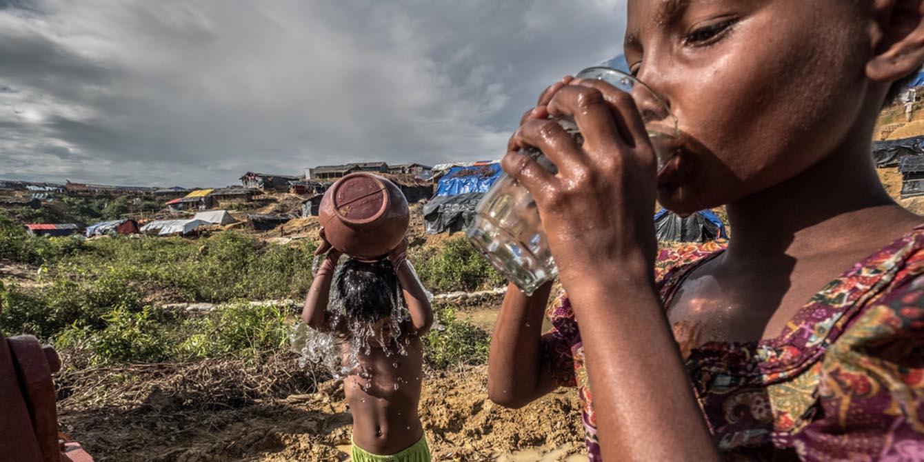 Oxfam in Asia - Bangladesh Rohingya Refugee Crisis - Clean water