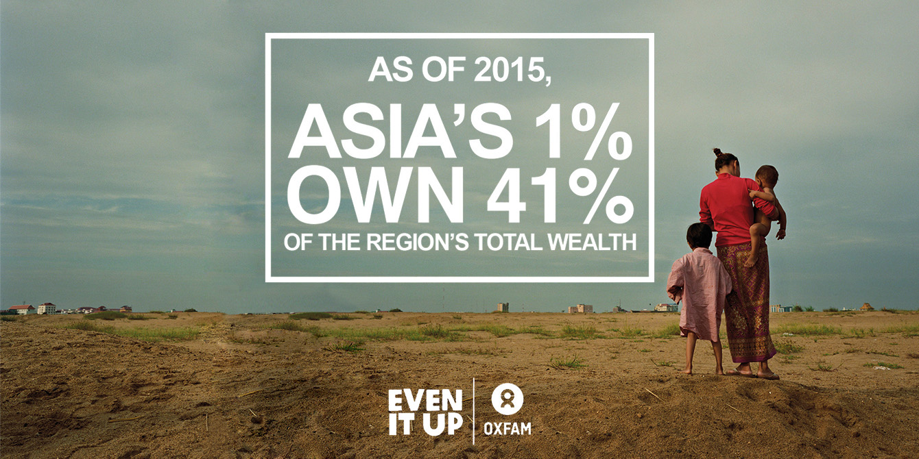 Oxfam in Asia - Campaigns and Policy - Even it Up