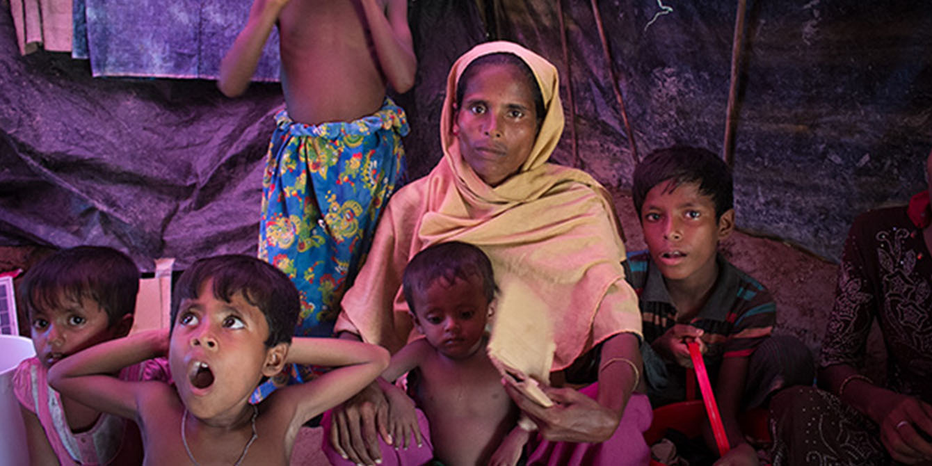 Oxfam in Asia - Bangladesh - Surviving Daily Life Inside a Refugee Camp - Sumayrha