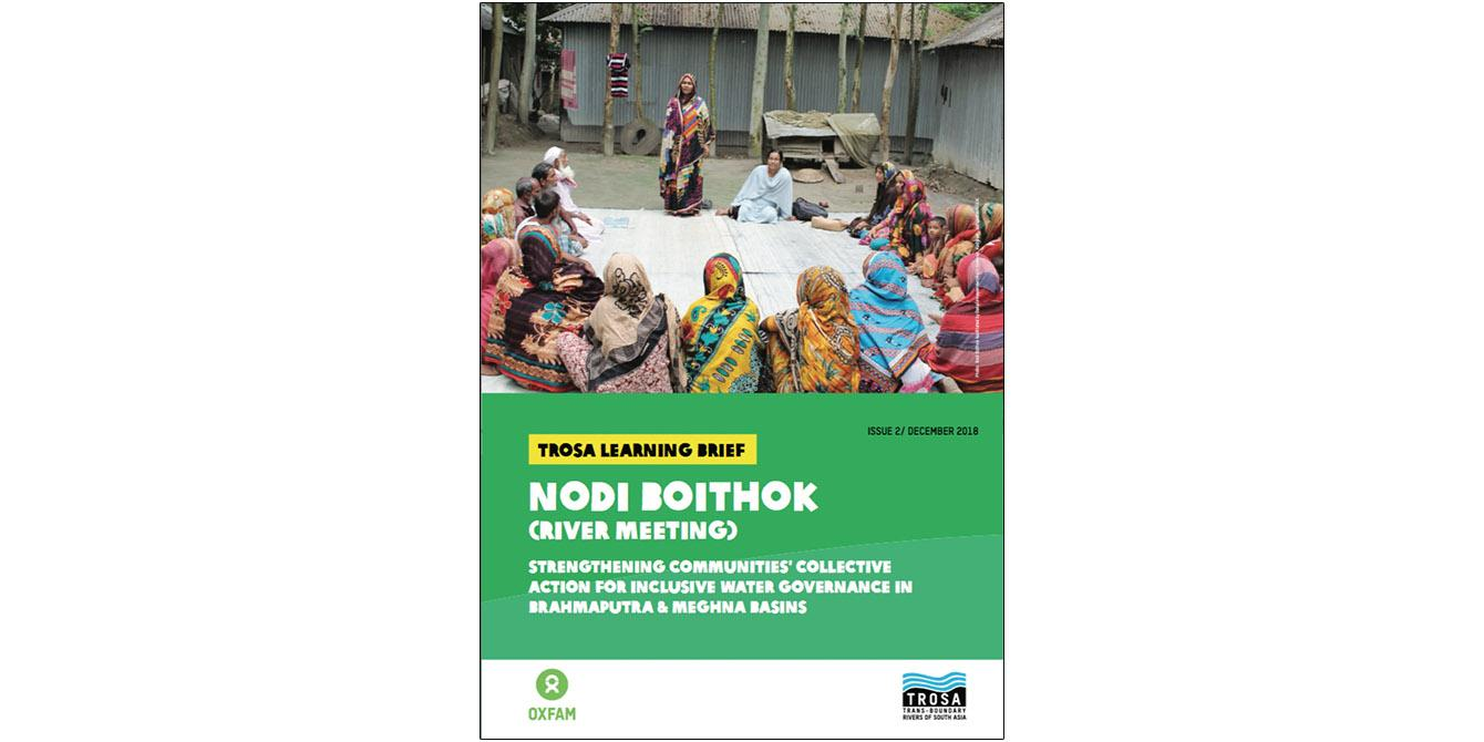 Oxfam in Asia - Learning - Water Governance - Brahmaputra Meghna River Basins