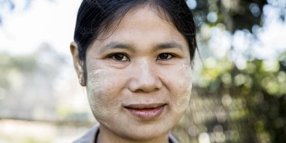 women leader, water governance, Salween River
