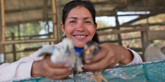 Oxfam in Cambodia - Chhin Saren