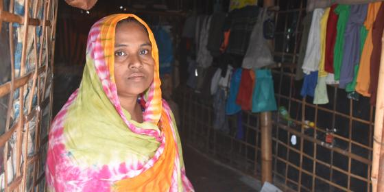 Oxfam - Cox's Bazar - Rohingya refugees: Working for Peace, Longing for Home