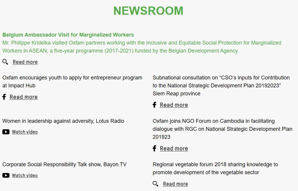 Newsroom, Pineeh Pinooh
