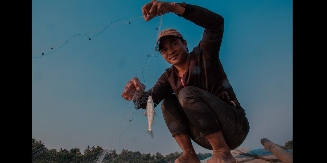 A 34-year old fishermen, Hom Sokorn