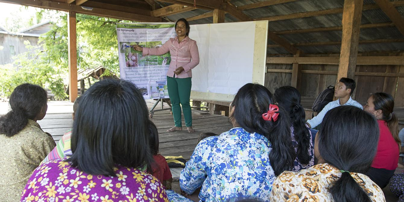 Supporting Women Farmers, Building Their Confidence