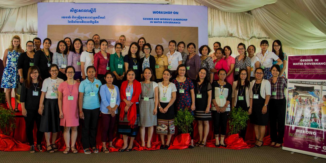 The Pathways For Gender Equity And Women's Leadership in Water Governance