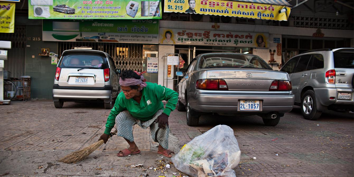 Life and Work as a Street Cleaner