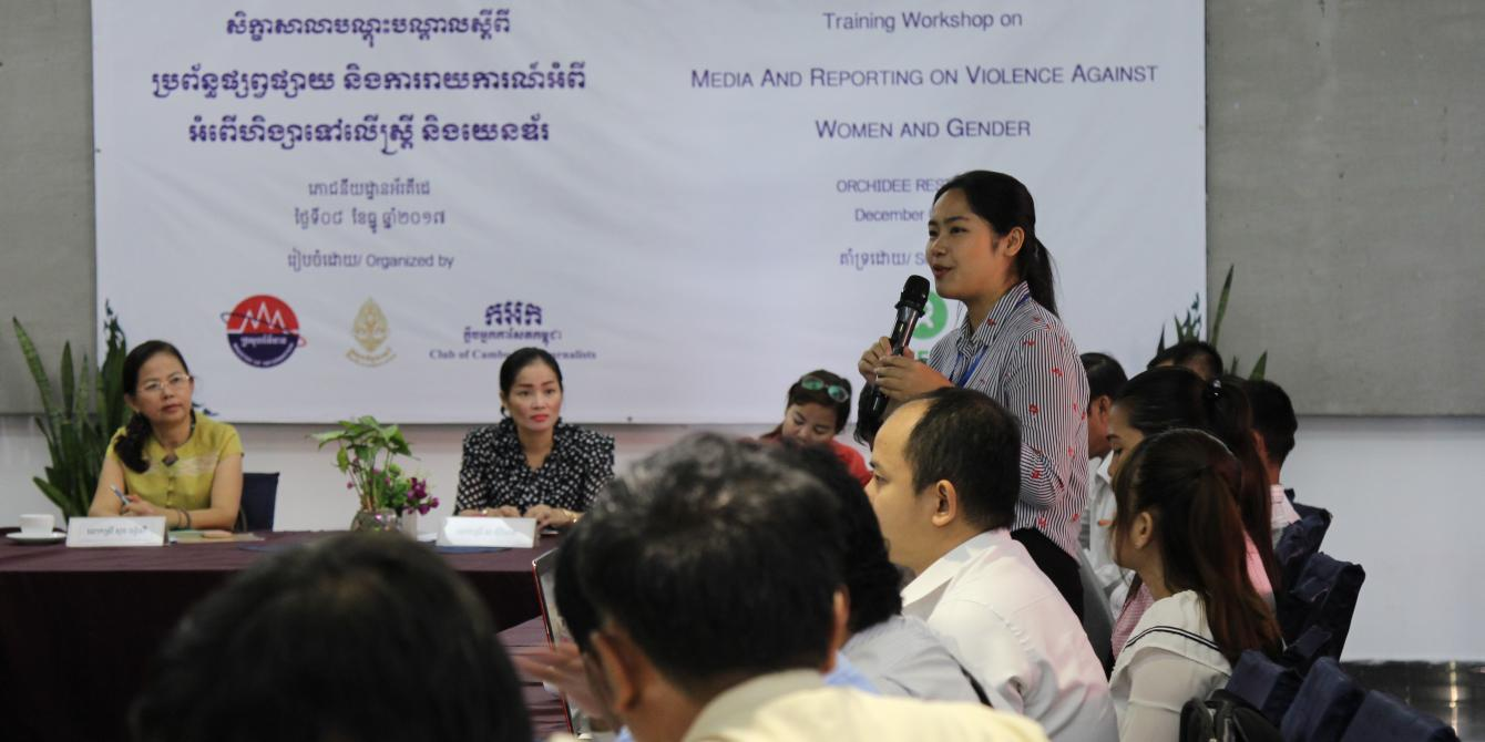 Violence Against Women and Girls for Media