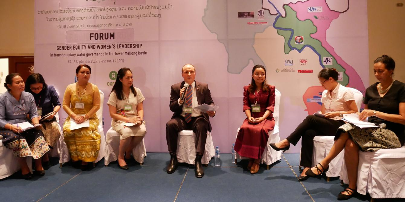 Regional Forum For Gender Equity And Women's Leadership In Water Resource Management Of The Mekong