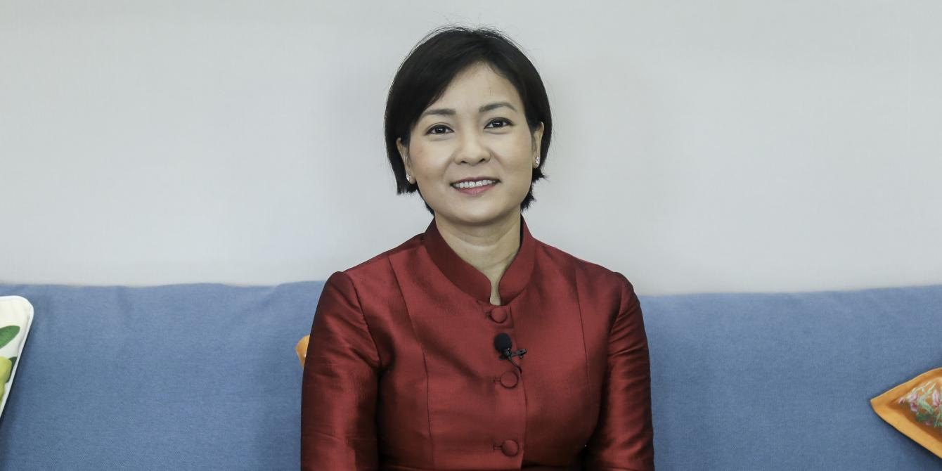 H.E. Chea Serey, Assistant Governor and Director General of Central Banking, National Bank of Cambodia