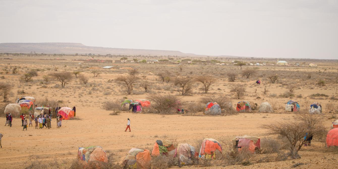 An expanse of an IDP settlement in eastern Somaliland. Allan Gichigi/Oxfam