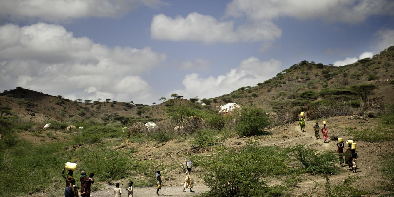 Turkana county in northern Kenya where oil extraction is gaining momentum. Kieran Doherty/Oxfam