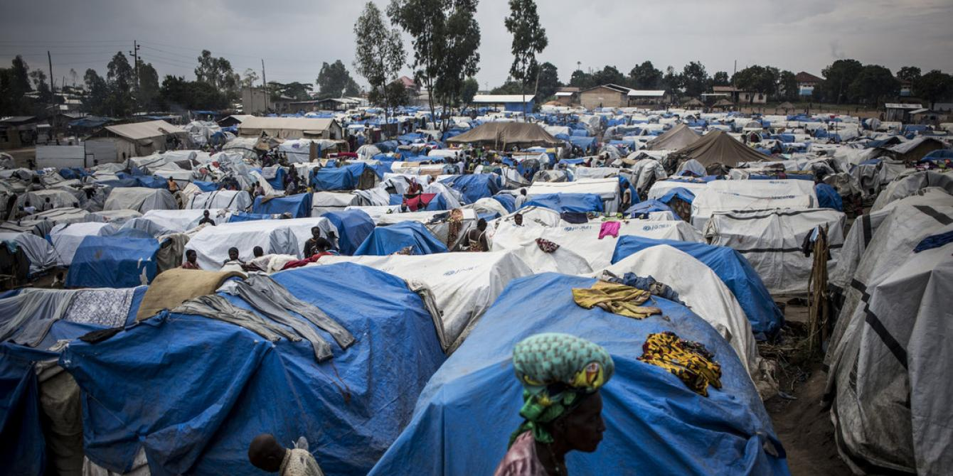 IDP Camp, Bunia General Hospital, Democratic Republic of Congo. Photo by John Wessels/Oxfam
