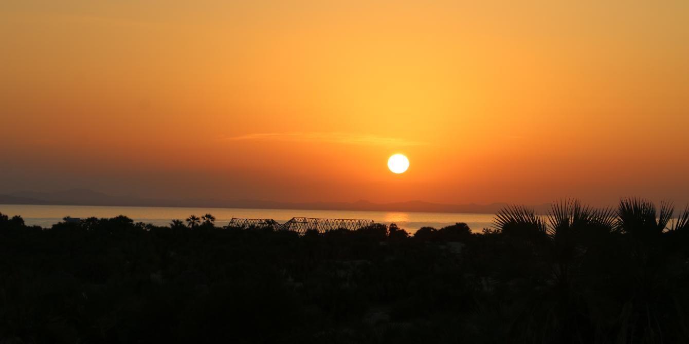 Sunrise shot of Turkana County. Photo credit/Oxfam