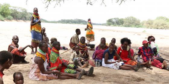 On going community baraza in Turkana County. Photo Credit: Jeremy Mutiso