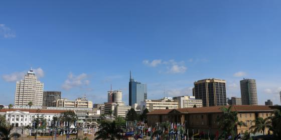 View of Nairobi. Photo Credit Kevin Wabungo