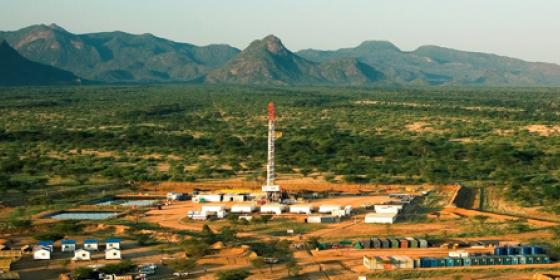 Oil rig in Turkana. Photo Credit: Kenya Civil Society Platform on Oil and Gas Report