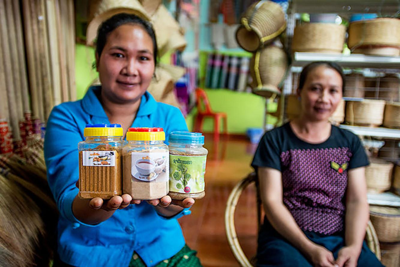 Bokeo Tea and Handicraft, women's group, GALS