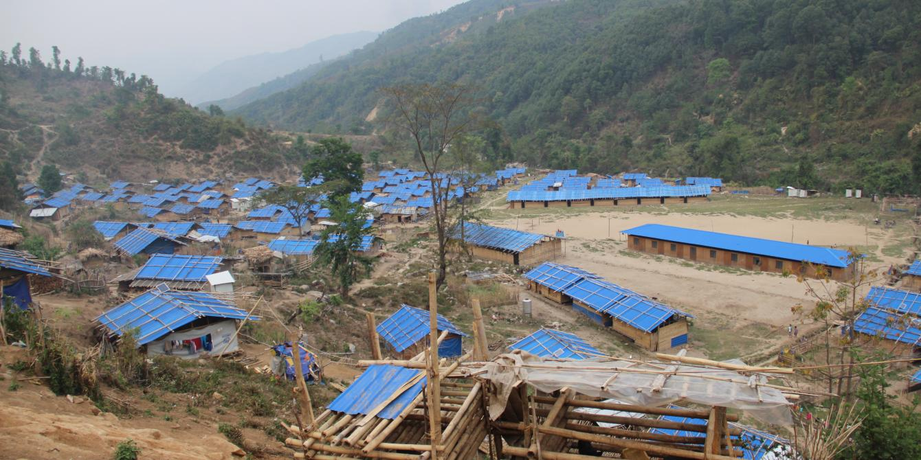 IDP camp in Kachin State