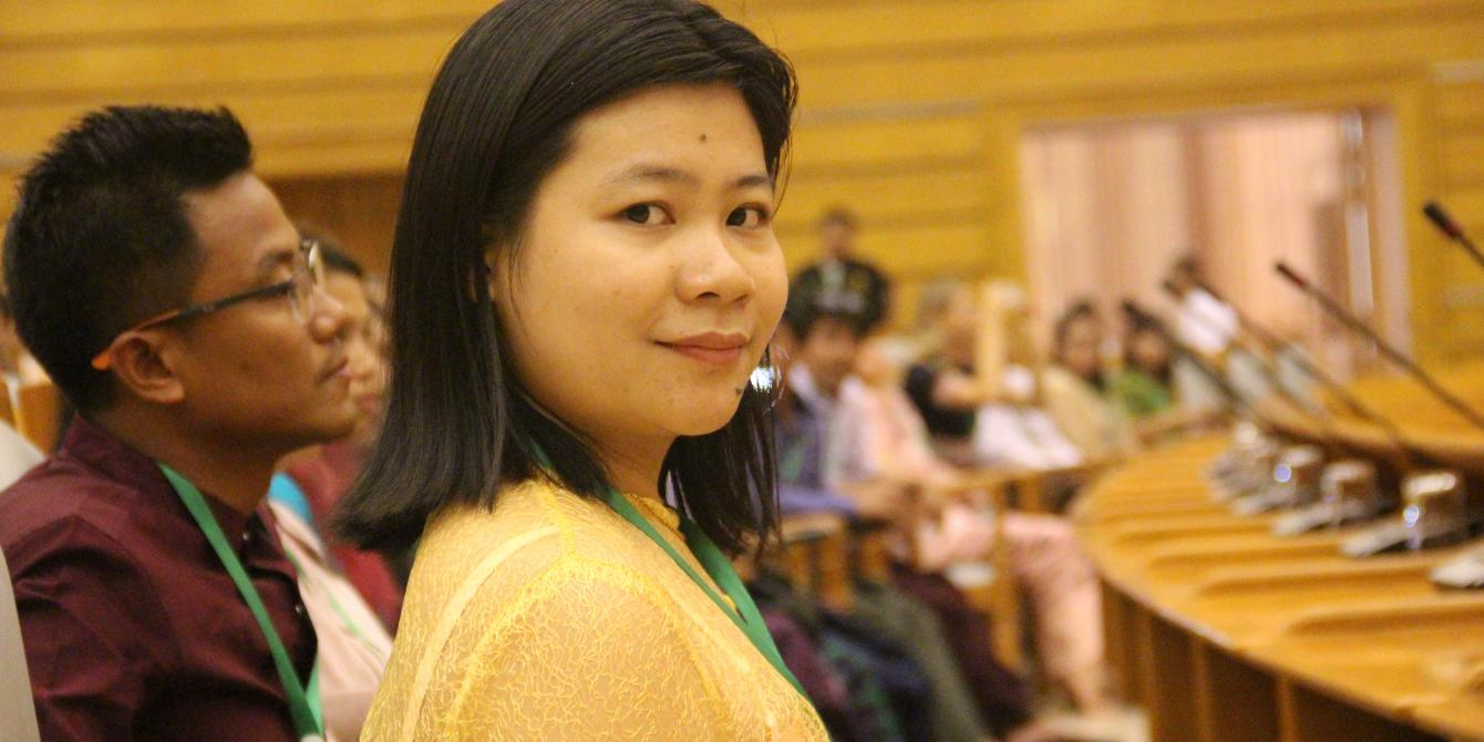 Portrait of Yee Mon Oo, Advocacy and Campaigns Coordinator