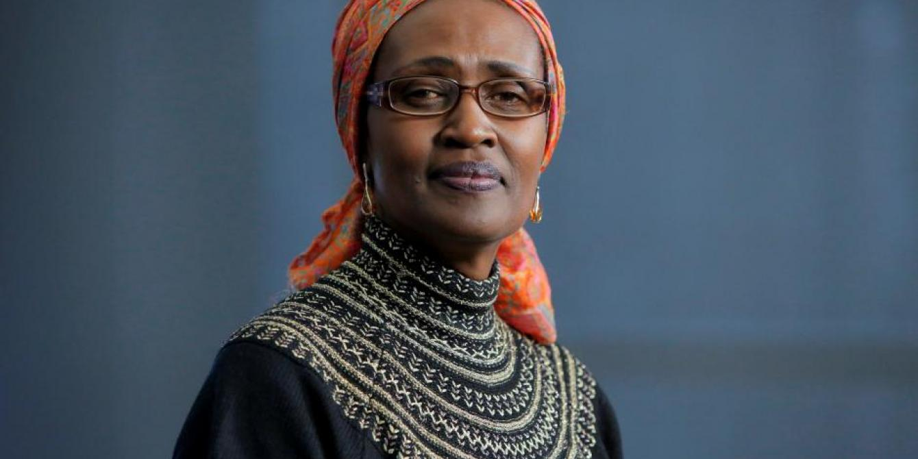 Oxfam International Executive Director Winnie Byanyima Portraits