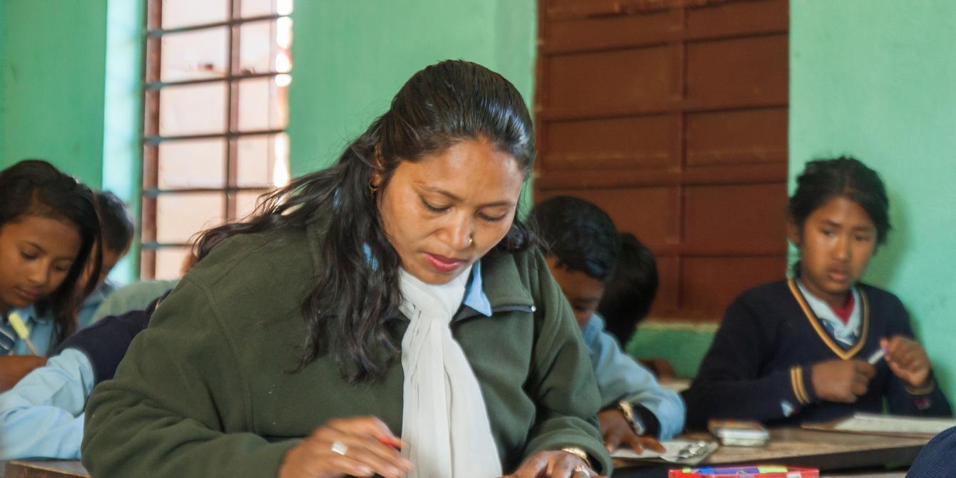 Saraswati Deula (32) went back to school to complete her studies - Credit: Amuse Communications/Oxfam