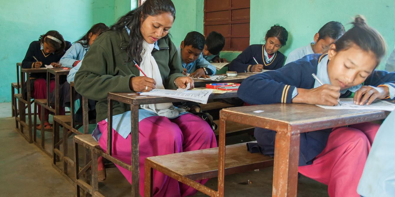 Saraswati Deula (32) went back to school to complete her studies - Credit: Amuse Communications/Oxfam