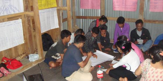 Oxfam prepares Disaster Risk Management Plan/Photo by: Devi Raman Acharya/Action Nepal
