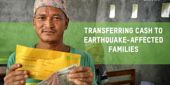 Cash transfer in Nepal