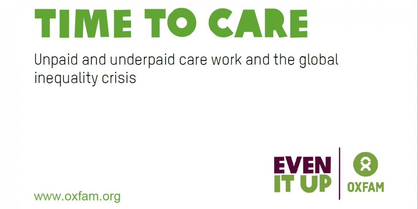 Time to care Unpaid and underpaid care work and the global inequality crisis