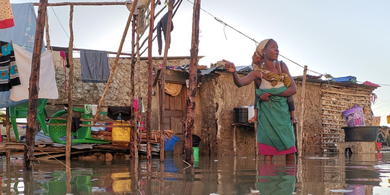 Survivor of Cyclone Idai