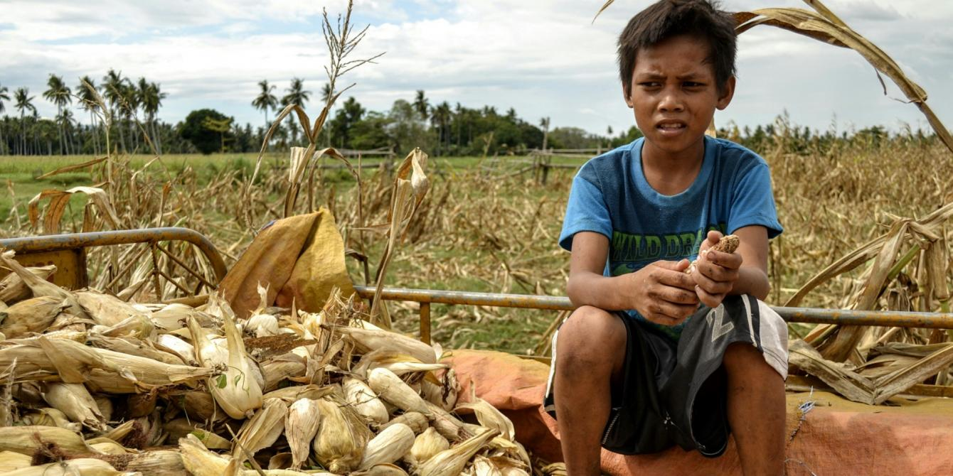 The super-charged El Niño is threatening their source of income and food.(Photo:Rhea Catada/Oxfam)