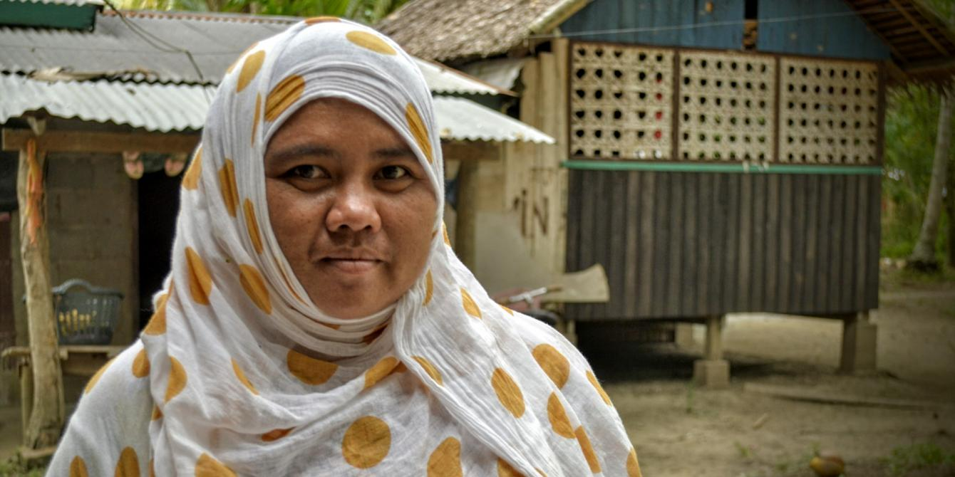 Warda Dagadas, 32, hopes for kambayabaya, that is freedom from poverty, hunger and fear. (Photo: Rhea Catada/Oxfam)