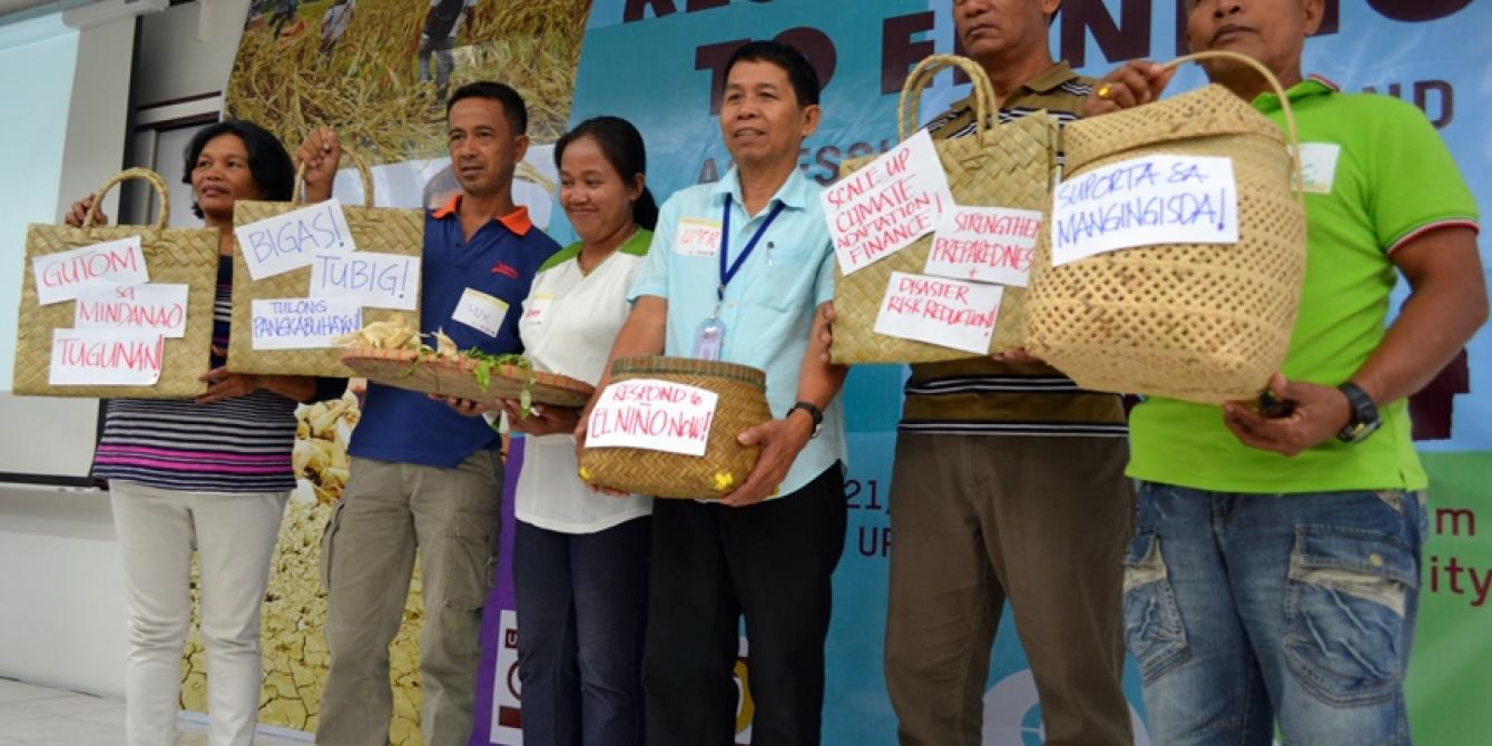 Drought-affected farmers, fisherfolk leaders urge government to step up El Niño response (Photo by Rhea Catada/Oxfam)