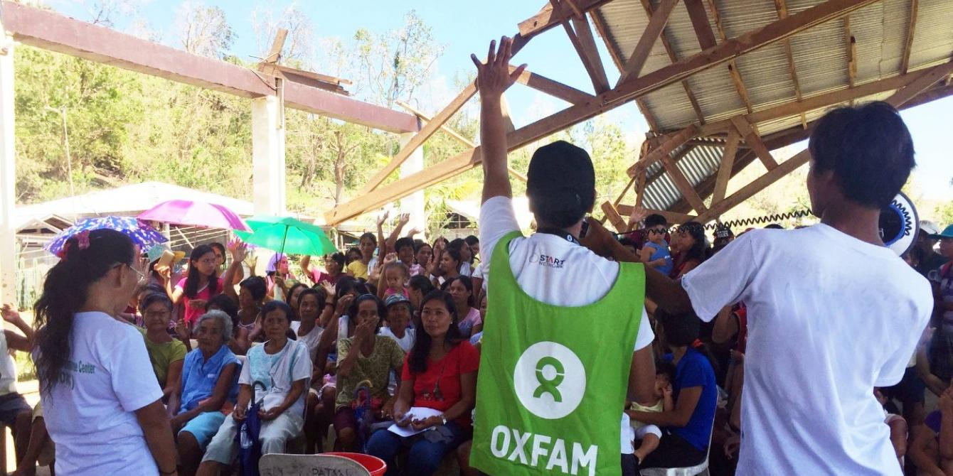 In the face of COVID-19, a new direction for Oxfam