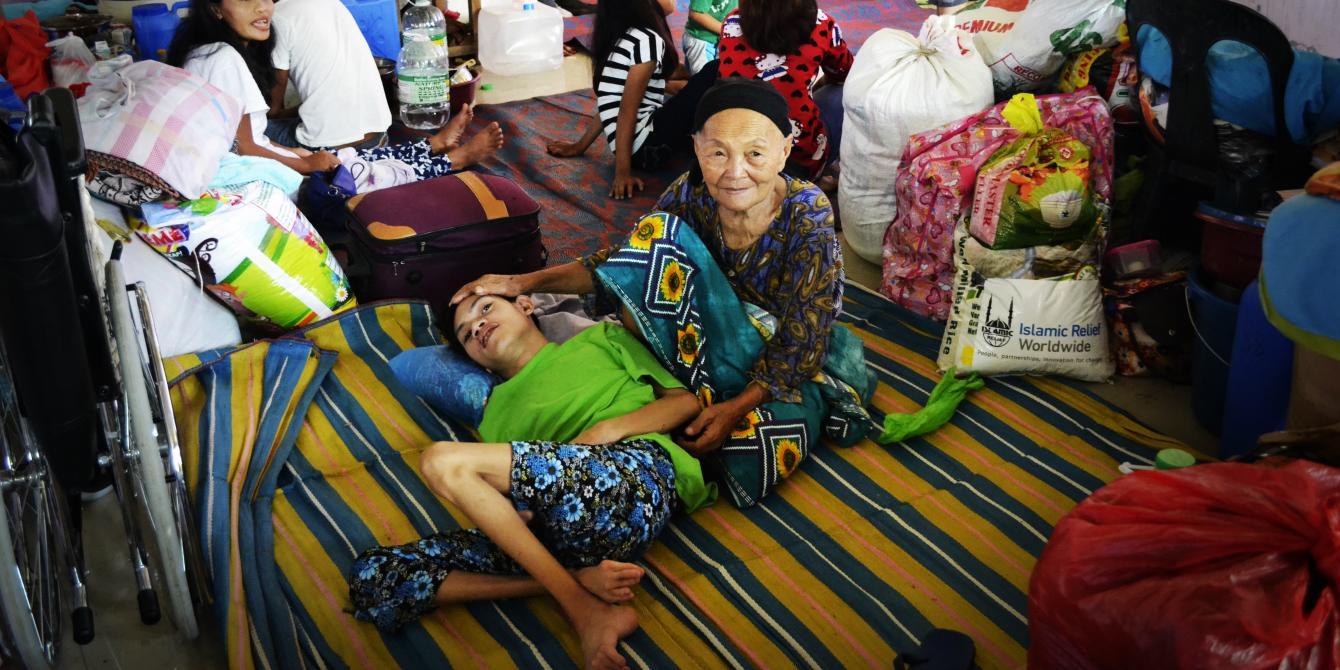 Marawi evacuee Raga Lininding