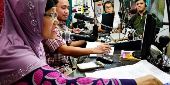 S'bang Ka (Rise Up) Marawi radio show