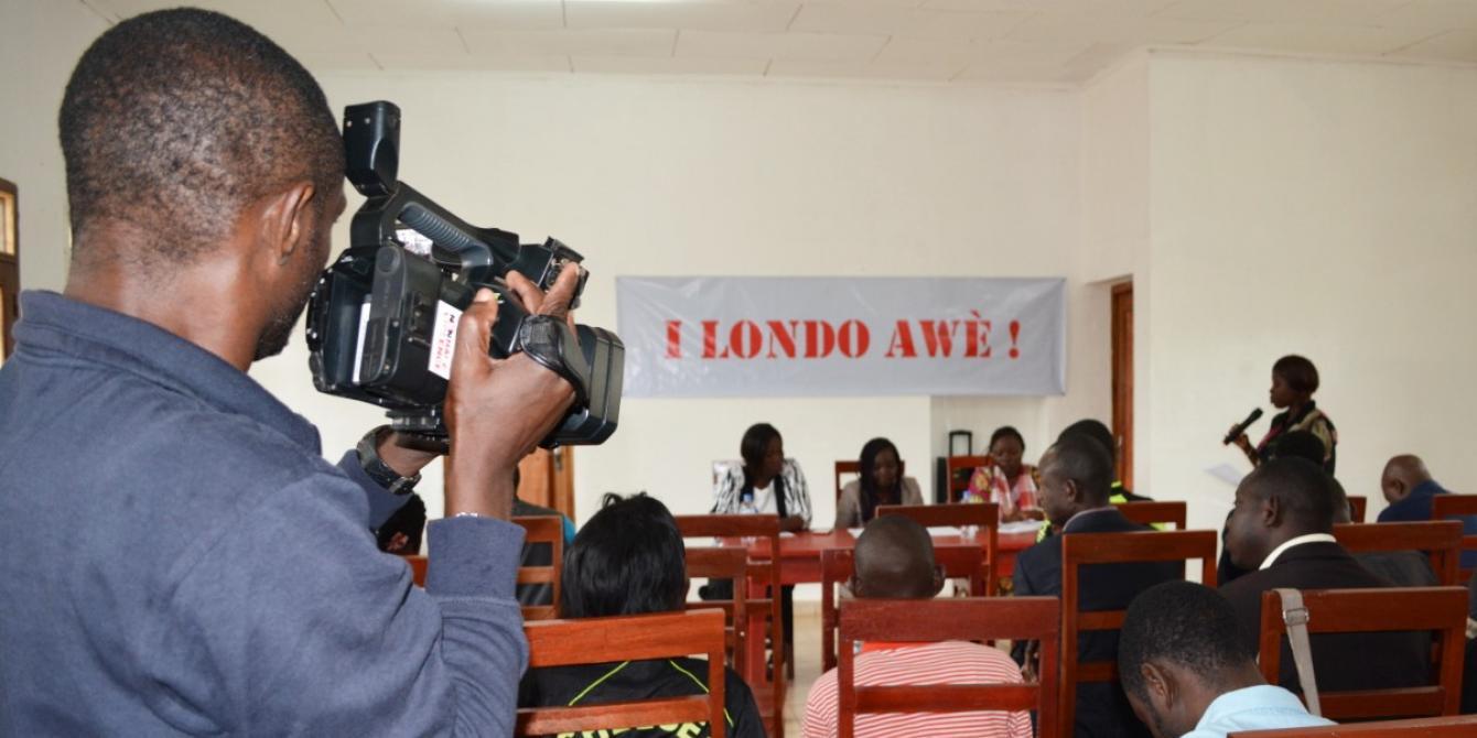 Conférence de presse d'I Londo Awè