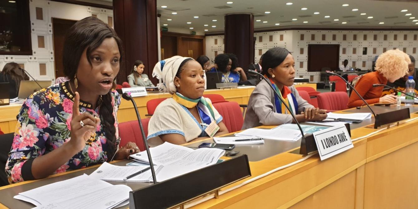 Les femmes de RCA se lèvent à l'Union africaine