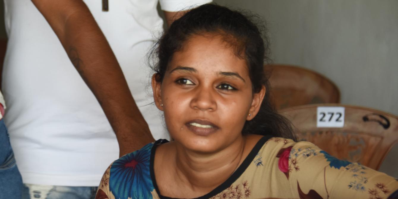 Young Sri Lankan female participant