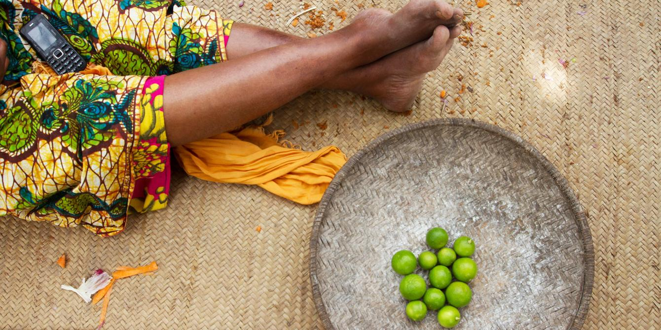 The Female Food Hero is a national reality TV style competition which raises awareness in Tanzania of the many incredible achievements of its women food producers. Photo: Coco McCabe/Oxfam