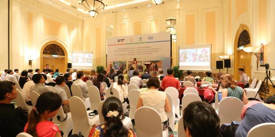 WEAVE launch workshop in Hanoi. Credit: Oxfam in Vietnam