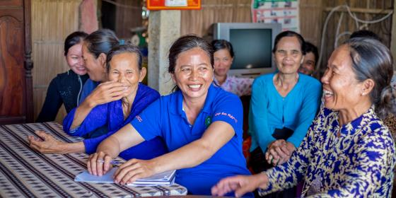 Women's consultation session in northern Vietnam. Credit: Oxfam Vietnam